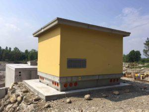 Cabine elettriche a pannelli | Modulo Cimac | Produzione in serie di cabine elettriche prefabbricate in c.a.v. e omologate ENEL