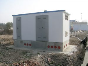 Cabine elettriche monoblocco | Modulo Cimac | Produzione in serie di cabine elettriche prefabbricate in c.a.v. e omologate ENEL