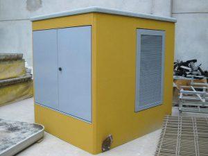 Cabine elettriche omologate ENEL | Modulo Cimac | Produzione in serie di cabine elettriche prefabbricate in c.a.v. e omologate ENEL