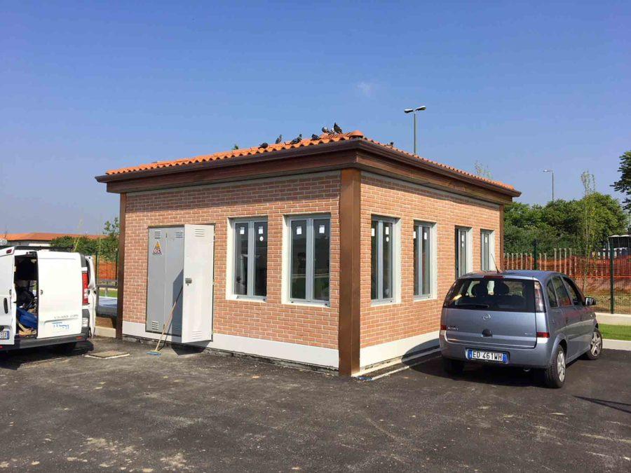 Locali pompe | Modulo Cimac | Produzione in serie di cabine elettriche prefabbricate in c.a.v. e omologate ENEL
